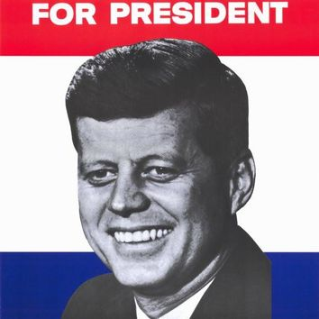 Kennedy For President 11x17 Movie Poster