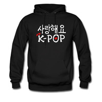 love kpop in korean txt vector art hoodie sweatshirt tshirt