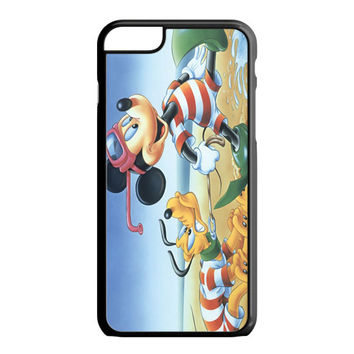 Vintage Mickey Mouse and Pluto iPhone 6S Plus Case