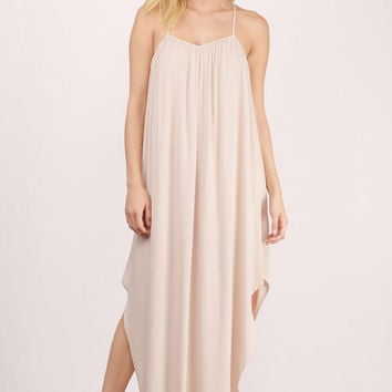 Alessia Gauze Maxi Dress