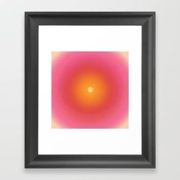 In the imagination's new beginning Framed Art Print by anipani
