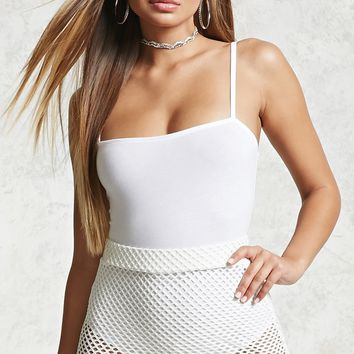 Square Neck Cami Bodysuit