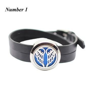 Stainless Steel Oil Diffuser bracelet Locket