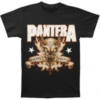 Pantera Hostile Skull T-shirt - Pantera - P - Artists/Groups - Rockabilia