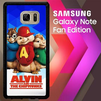 Alvin And The Chipmunks R0317 Samsung Galaxy Note FE Fan Edition Case