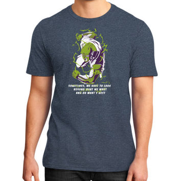 SOMETIMES piccolo District T-Shirt (on man)