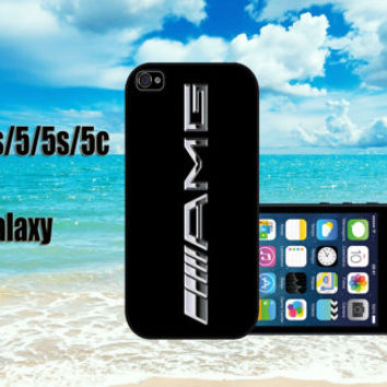 mercedes AMG logo custom design hard plastic available for iphone 4/4s,5/5s/5c ands samsung galaxy S3/S4/S5 case