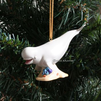 Licensed cool 2016 Custom Disney Nemo Finding Dory BAILEY BELUGA WHALE Christmas Ornament PVC