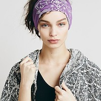 Soul Flower Womens Organic Printed Headband