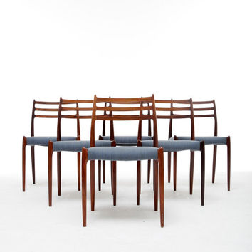 N.O. Møller Dining Chairs