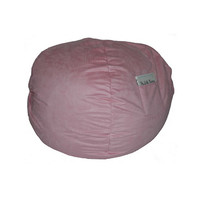 Fun Furnishings Micro Suede Large Bean Bag-Personalized in Pink