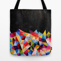 Space Shapes Tote Bag by Fimbis