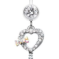 My Dainty Heart Belly Button Ring