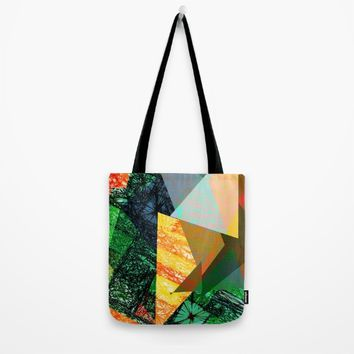 Rhythm in Green Tote Bag by SagaciousDesign