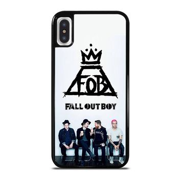 FALL OUT BOY FOB iPhone X / XS case