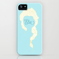 Frozen's Elsa iPhone & iPod Case by Fox and Bunny Co. | Society6