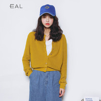 Knit Tops Korean Long Sleeve Jacket [9022792583]
