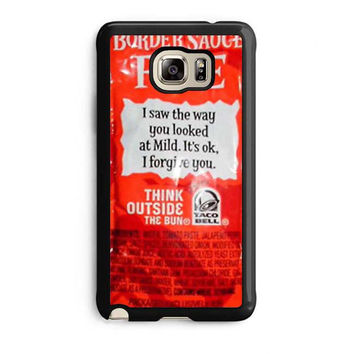 taco bell sauce fire cover samsung galaxy note 5 note edge cases