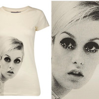 Retro To Go: Twiggy t-shirt from Dorothy Perkins