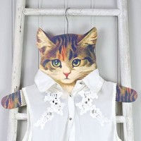 Cat Dress Up Coat Hanger