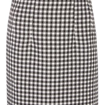 Gingham Mini Skirt - Skirts - Clothing