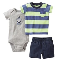 Carter's Mommy's 1st Mate Bodysuit Set