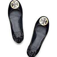 Tumbled Patent Leather Reva Ballet Flat