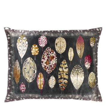 Designers Guild Tulsi Aubergine Decorative Pillow