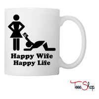 Happy Wife Coffee & Tea Mug