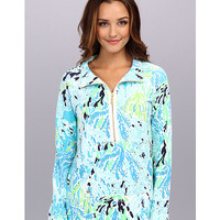 Lilly Pulitzer Skipper Printed Popover Spa Blue Lets Cha Cha - Zappos.com Free Shipping BOTH Ways