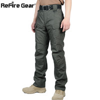 IX7 II Gear Teflon Waterproof Tactical Military Pants Men Rip-stop SWAT Soldier Combat Trousers Militar Work Army Cargo Pants