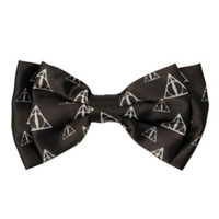 Harry Potter Deathly Hallows Hair Bow