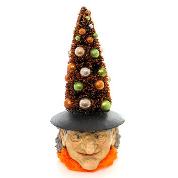 Halloween Tree Witch Box Halloween Decor
