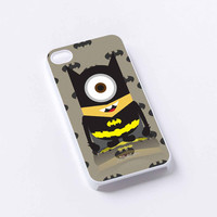 despicable batman shadow iPhone 4/4S, 5/5S, 5C,6,6plus,and Samsung s3,s4,s5,s6