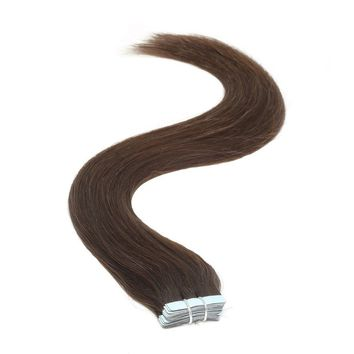 Tape in Hair Extensions | 18 inch | 20ps | 50g | Barely Black (1b)