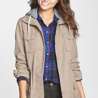 Thread & Supply Hooded Anorak Jacket (Juniors) | Nordstrom