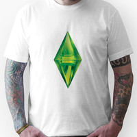 The Sims 2 - Plumb-bob on Your Chest Unisex T-Shirt