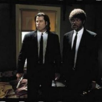Pulp Fiction Travola Jackson Suits Movie Poster 11 inch x 17 inch poster