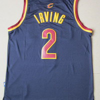 Kyrie Irving 2 Cleveland Cavaliers Jersey Super Rare New NBA Jersey Irving Cleveland Basketball Jersey All Stitched and Sewn Any Size S -XXL