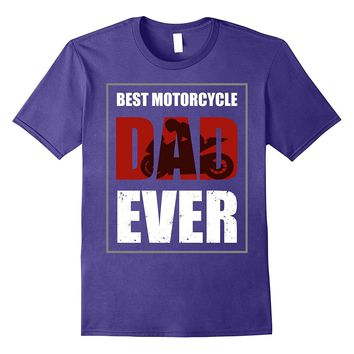 Mens Best Dad Ever T Shirt - Vintage Motorcycle Shirts