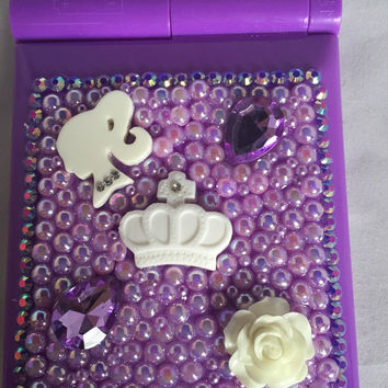 LED compact mirror, blinged mirror, mirror, compacts mirror compacts