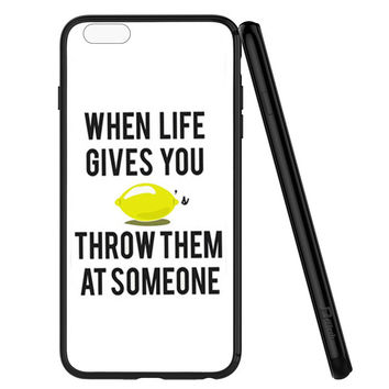 When Life Gives You Lemons iPhone 6 | 6S Case Planetscase.com