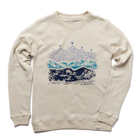 His Unlayered Crew Pullover
