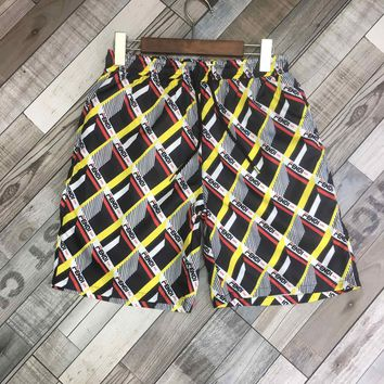 Fendi men's summer sports fashion beach shorts