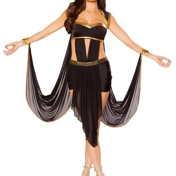 Roma RM-10081 2pc Midnight Goddess Women's Costume