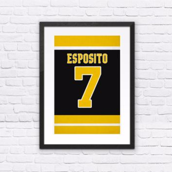Phil Esposito Number 7 Jersey