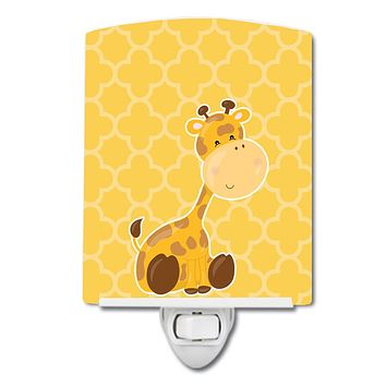 Giraffe Ceramic Night Light BB8609CNL