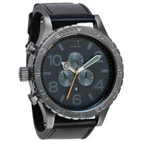 Nixon Men's A124-680 Stainless-Steel Analog Grey Dial Watch