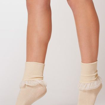 rsaskrl - Girly Lace Ankle Sock