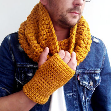 Best Mens Crochet Scarf Products On Wanelo